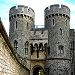 Image of the Windsor Castle Norman Gate house