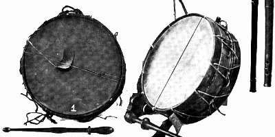 Tabour Drum Medieval Percussion Instruments