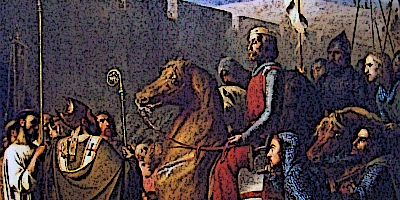 Second Crusade Baldwin of Boulogne Enters Edessa 1098
