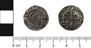 Medieval Moneyer coin size