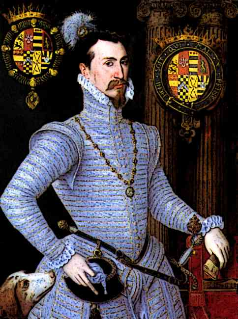 Medieval Lord Robert Dudley