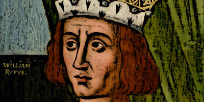 King William Rufus of England