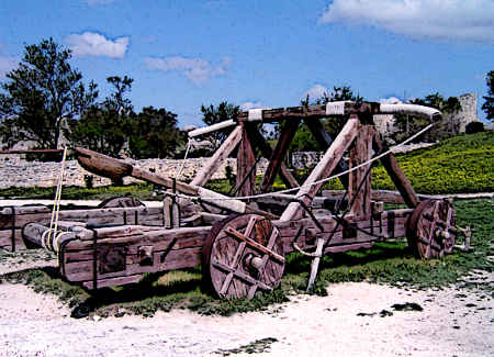 Mangonel Siege Weapon