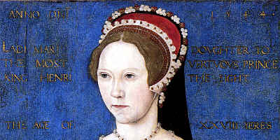 Picture of Medieval Queen Mary I Bloody Mary