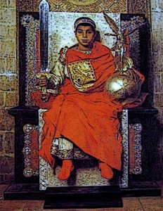 The Byzantine Empire produced quality shoes and clothing